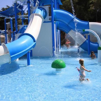 Parque acuático para niños