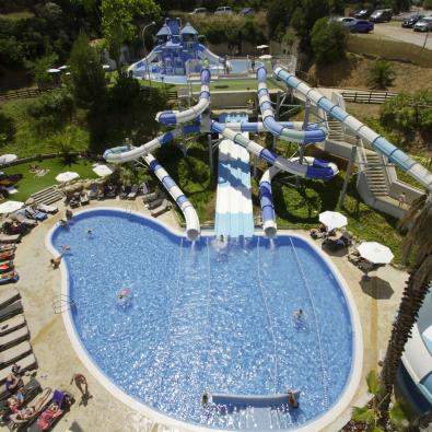 Fun water park at Hoteles Garbí