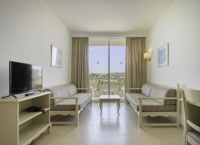 Habitación con vista del Hotel Garbí Cala Millor