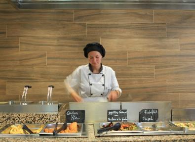 Show cooking al restaurant de l'Hotel Garbí Cala Millor