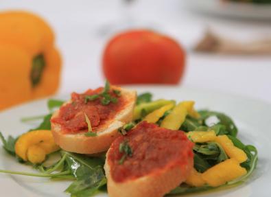 Detalle plato del restaurante en Cala Millor Mallorca