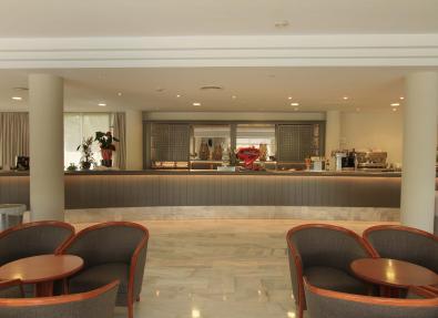 Bar de l'Hotel Garbí Cala Millor Mallorca