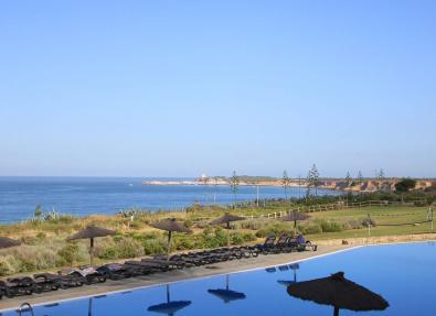 Pool mit Blick auf die Costa de la Luz Cadiz