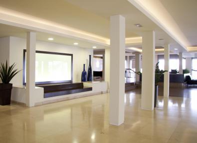 Hall de l'Hotel Garbí Park