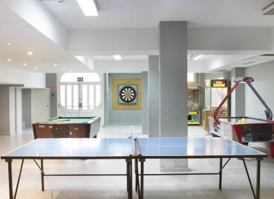 Sala de jocs de l'Hotel Garbí Park