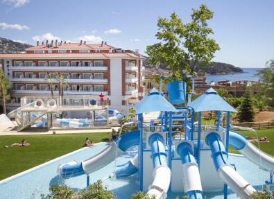 Hôtel Gran Garbí Mar avec parc aquatique