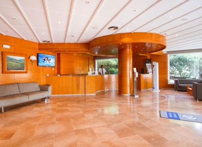 Réception de l'Hôtel Gran Garbí Mar