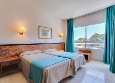 Chambre double de l'hôtel Gran Garbí Mar