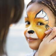 Mini Club face painting workshop