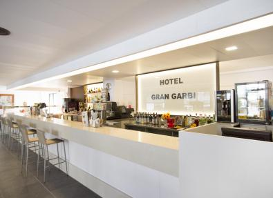 Bar of the Hotel Gran Garbí