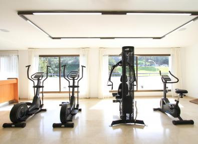 Gym of the Hotel Gran Garbí
